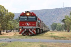 The Ghan - Alice Springs NT