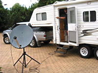 eBay Mobile Satellite TV System for travellers